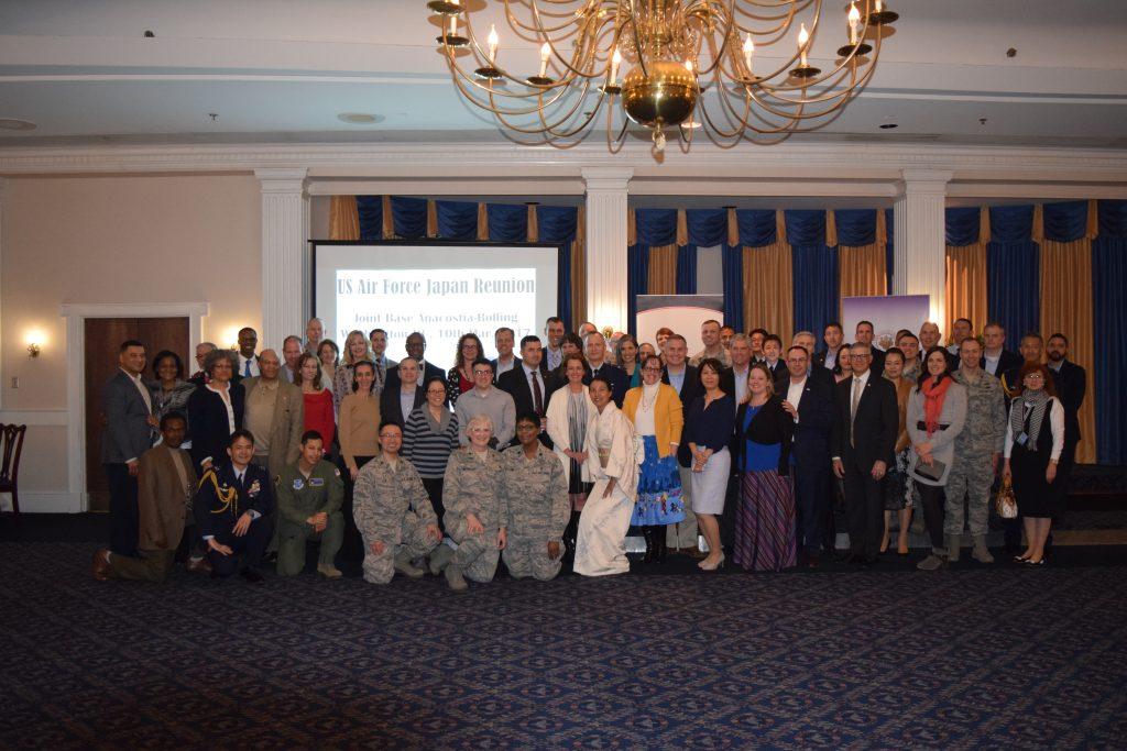 US Air Force members stationed in Japan reunite - The Japan U S