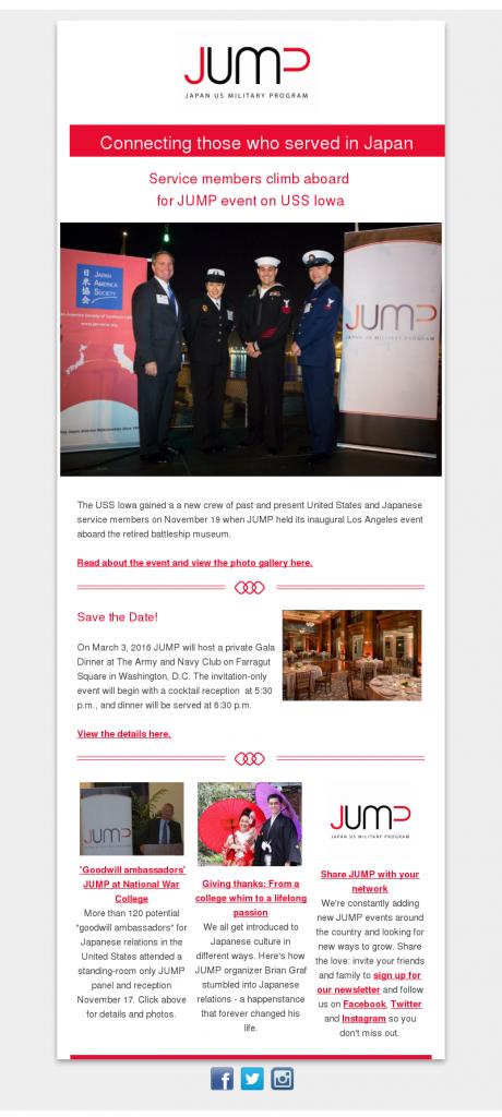 jump newsletter november 2015