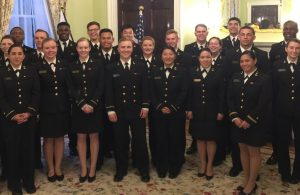 Midshipman Send-Off at the Japanese Embassy