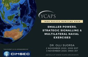Webinar: Smaller Powers, Strategic Signalling, & Multilateral Naval Exercises (YCAPS-JUMP)