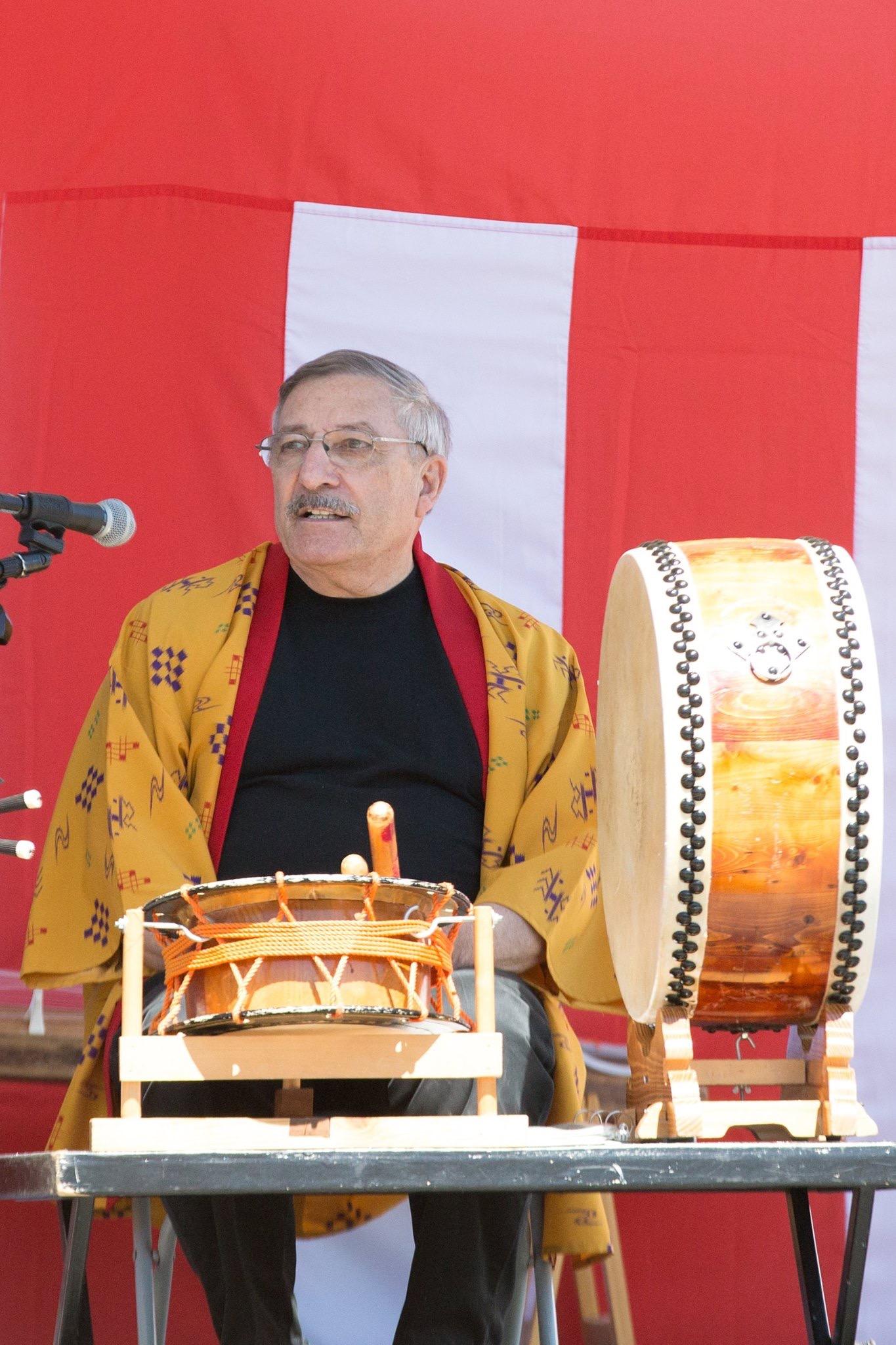 Gary-and-Taiko-drume